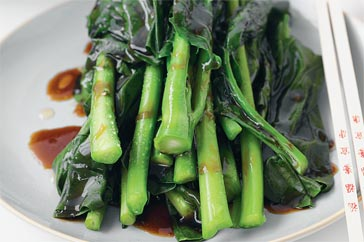 Chinese Broccoli With Oyster Sauce - Gai Lan