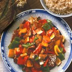 Chinese Steak With Peppers