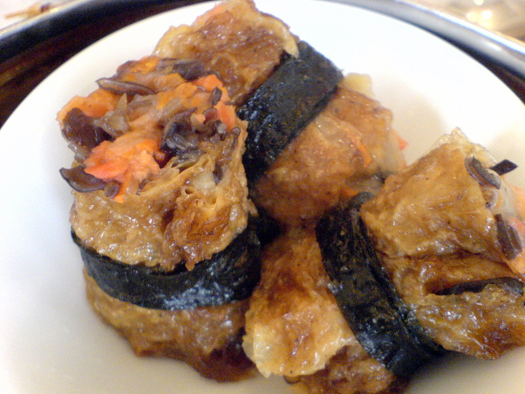 Fried Mock Oyster - Bean Curd