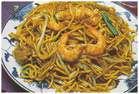 Hot and Sour Shrimp Lo Mein