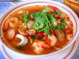 Tom Yum Kung - Thai Hot and Sour Soup