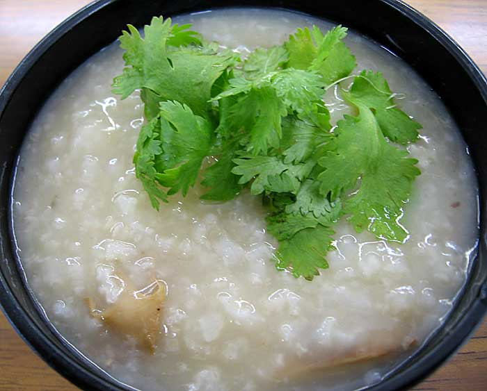 Jook ( Congee) With Turkey