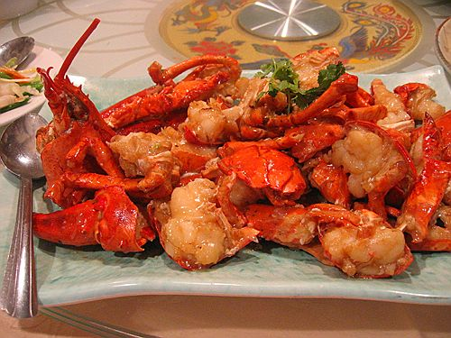 Lobster - Cantonese Style