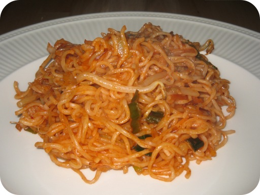 Noodles With Meat Sauce