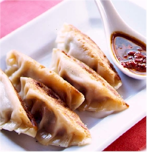 Panfried Pork Dumplings - Potstickers