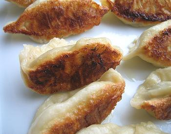 Potstickers With Prawn and Cilantro