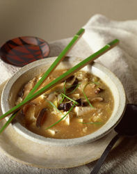Quick and Easy Chinese Mushroom Soup