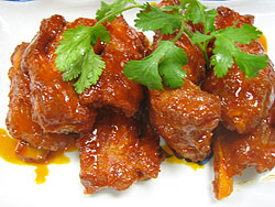Salt and Pepper Spareribs - Spicy