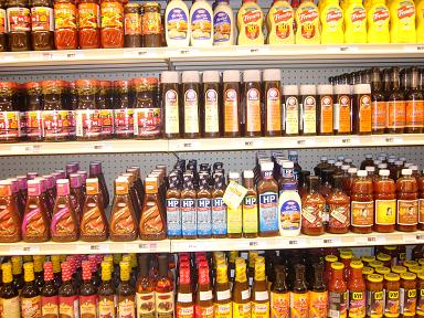 Sauces sold in Chinese Market