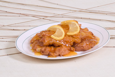 Sweet and Sour Chicken With Lemon