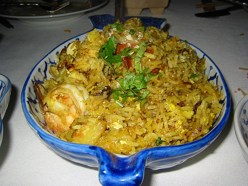 Taiwanese Style Fried Rice